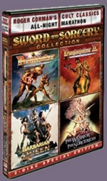 Jaquette Sword & Sorcery Collection DVD  (Roger Corman Cult Classics)