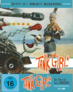 Jaquette TANK GIRL (Blu-Ray+DVD) - Cover B