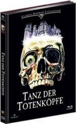 Jaquette Tanz der Totenk�pfe (Lim. Uncut Mediabook - Cover B) (DVD + BLURAY) EPUISE/OUT OF PRINT