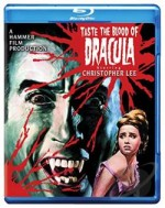 Jaquette Taste the blood of Dracula