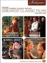 Jaquette TCM Greatest Classic Films: Shakespeare