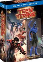 Jaquette Teen Titans: The Judas Contract - Édition Limitée Blu-ray + DVD + Figurine
