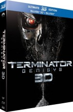 Jaquette Terminator Genisys (Ultimate 3D Edition - Blu-ray 3D + Blu-ray)