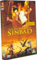 Jaquette The 7th Voyage of Sinbad