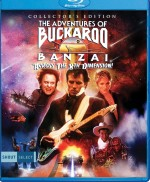 Jaquette The Adventures Of Buckaroo Banzai Across The 8th Dimension