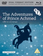 Jaquette The Adventures of Prince Achmed (DVD + Blu-ray)