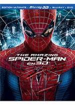 Jaquette The Amazing Spiderman (Combo Blu-ray 3D + Blu-ray + DVD)