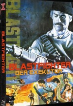 Jaquette The Blastfighter (Mediabook DVD + Bluray Cover C)