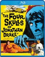 Jaquette The Four Skulls of Jonathan Drake