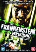 Jaquette The Frankenstein Experiment