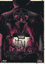Jaquette The Gate - Die Unterirdischen -  (Blu-ray + DVD) Cover C EPUISE/OUT OF PRINT