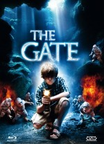 Jaquette The Gate - Die Unterirdischen -  (Blu-ray + DVD) Cover D EPUISE/OUT OF PRINT