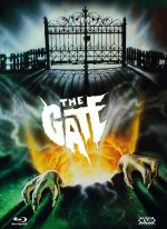 Jaquette The Gate - Die Unterirdischen -  (Blu-ray + DVD) Cover E EPUISE/OUT OF PRINT
