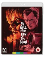 Jaquette The Girl Who Knew Too Much (Blu-ray + DVD)