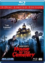 Jaquette The House by the Cemetery (4K Restoration)