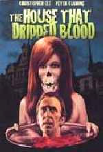 Jaquette The HOUSE THAT DRIPPED BLOOD
