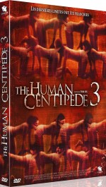 Jaquette The Human Centipede 3