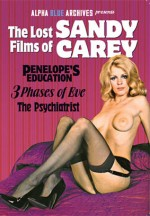 Jaquette The Lost Films of Sandy Carey