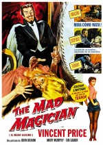 Jaquette The Mad Magician + The Magician EPUISE/OUT OF PRINT