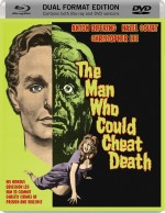Jaquette The Man Who Could Cheat Death (DVD + Bluray)