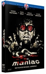 Jaquette The Maniac (Blu-Ray+DVD)