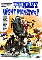 Jaquette The Navy vs. the Night Monsters