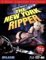 Jaquette The New York Ripper (Bluray + DVD + CD)