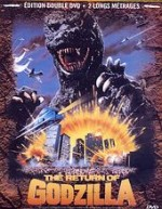 Jaquette The Return of Godzilla et Godzilla vs Space Godzilla
