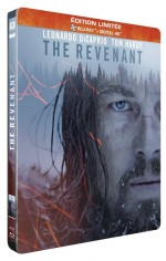Jaquette The Revenant (�dition Limit�e bo�tier SteelBook)
