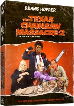 Jaquette The Texas Chainsaw Massacre 2 (Bluray + DVD)