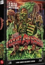 Jaquette The Toxic Avenger (2DVD+Blu-Ray - Limited 999 Edition)