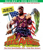 Jaquette The Toxic Avenger (Blu-ray + DVD Combo)