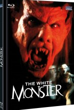 Jaquette The White Monster - Cover A (Bluray + DVD)