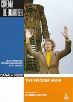 Jaquette The Wicker Man  (Coffret 2 DVD) EPUISE/OUT OF PRINT