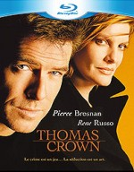 Jaquette Thomas Crown (édition Blu-ray + DVD)