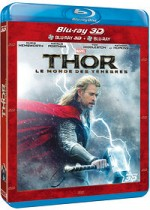 Jaquette Thor : Le Monde des T�n�bres (Combo Blu-ray 3D + Blu-ray 2D)