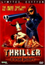Jaquette Thriller a Cruel Picture EPUISE/OUT OF PRINT