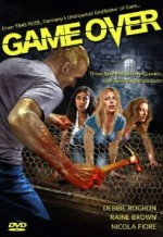 Jaquette Timo Rose's GAME OVER EPUISE/OUT OF PRINT