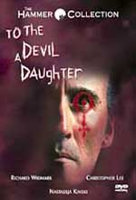 Jaquette TO THE DEVIL A DAUGHTER