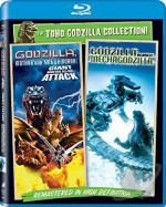 Jaquette Toho Godzilla Collection!: Godzilla, Mothra and King Ghidorah/Godzilla Against Mechagodzilla