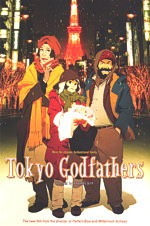 Jaquette TOKYO GODFATHERS