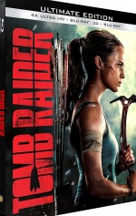Jaquette Tomb Raider - Ultimate Edition - 4K Ultra HD + Blu-ray 3D + Blu-ray