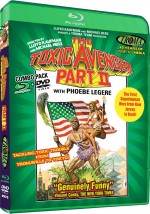 Jaquette Toxic Avenger Part II (Blu-ray + DVD Combo)