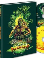 Jaquette Toxic Avenger : Tétralogie - Édition Mediabook Collector Blu-ray + DVD