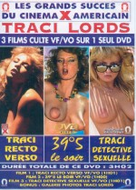 Jaquette Traci Lords recto verso EPUISE/OUT OF PRINT