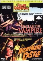 Jaquette TRACK OF THE VAMPIRE/NIGHTMARE CASTLE