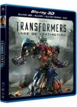Jaquette Transformers: l'�ge de l'extinction (Combo Blu-ray 3D + Blu-ray + DVD)