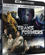 Jaquette Transformers: The Last Knight  [4K Ultra HD + Blu-ray + Blu-ray Bonus]