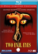 Jaquette Two Evil Eyes (Blu-ray + DVD + CD)
