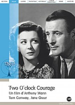 Jaquette Two O' Clock Courage  EPUISE/OUT OF PRINT